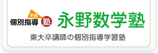 永野数学塾(東大卒講師のオンライン個別指導学習塾)